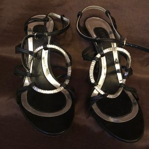 Givenchy high heel sandals sz 37.5 fits 6.5-7